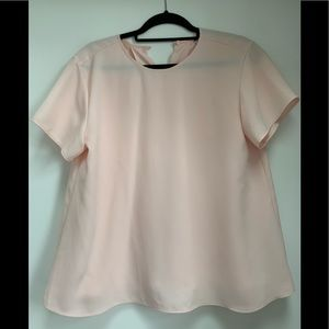 Uniqlo flowy short sleeve blouse